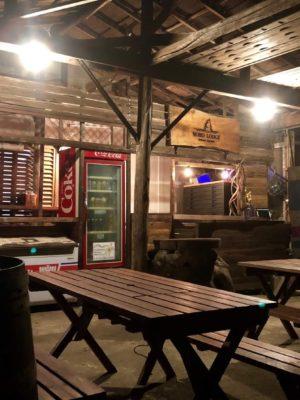 カフェ テラス 青野原 野呂ロッジキャンプ場